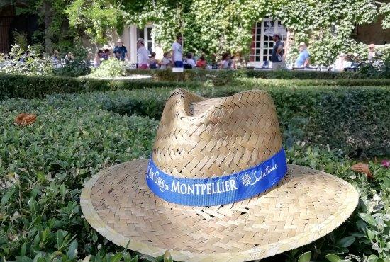 Chapeau-Jardin Château Bas d'Aumelas