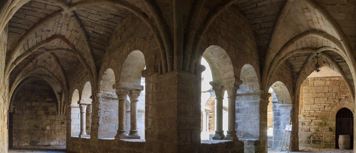 Cloître du Prieuré Saint-Michel de Grandmont
