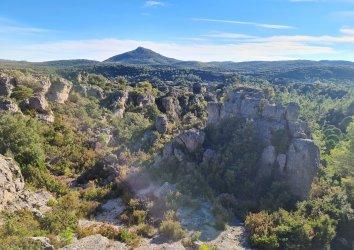 Vue panoramique du Cirque de Mourèze