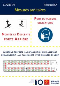 Navettes Pont du Diables -règles covid-19