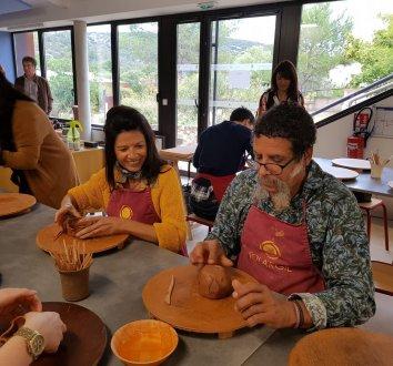 Atelier poterie à Argileum