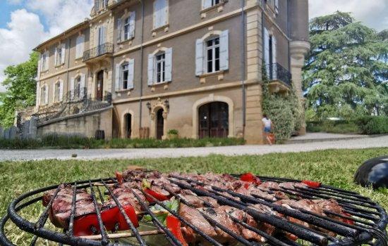 Réservez votre barbecue au Château Capion, Languedoc, Coeur d'Hérault
