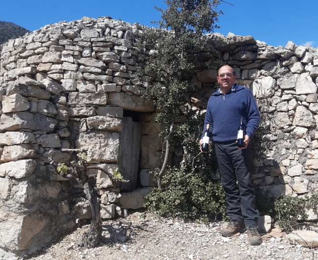 Patrick Compan, Président cave Vignerons de Pégairolles
