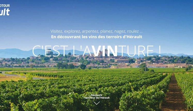 Site Oenotour de l'Hérault, 34, tourisme et vin au cœur du Languedoc-Rossillon