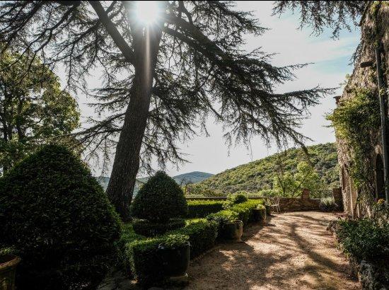 Les jardins du Château Bas d'Aumelas