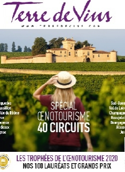 Couverture Hors-Série Oenotourisme Terre de Vins, avril 2020