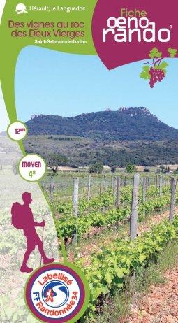 Fiche Oenorando - Des vignes au roc des Deux Vierges