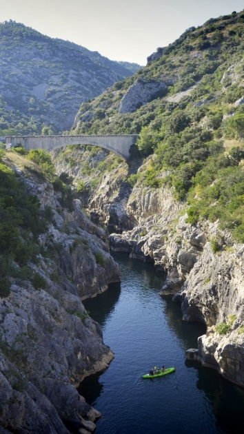 Canoë au Pont du Diable