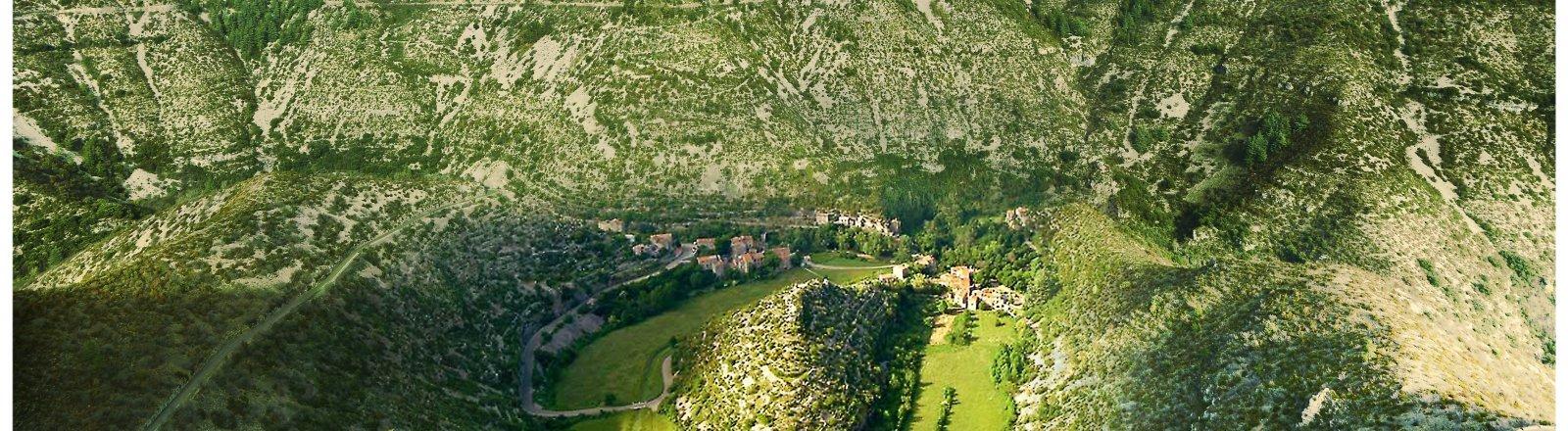 Grand Site de France Cirque de Navacelles © Olivier Diaz de Zarate