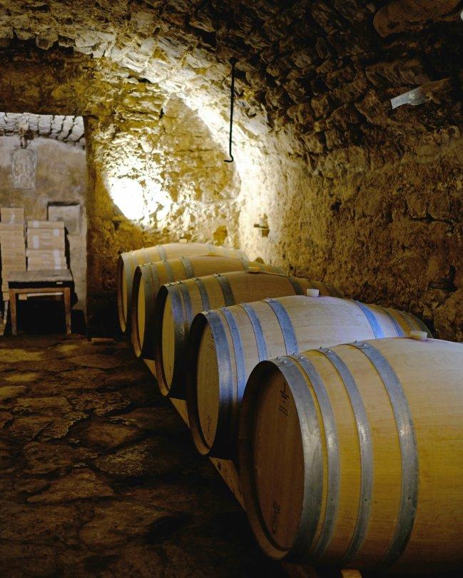 Caveau du Domaine de Ferrussac, la Vacquerie-et-Saint-Martin-de-Castries