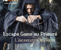 ESCAPE GAME AU PRIEURE - L'INCANTATION MAUDITE