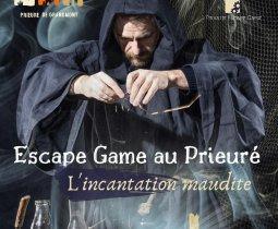 ESCAPE GAME AU PRIEURE - L'INCANTATION MAUDITE