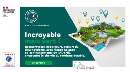 Fonds Tourisme Durable : Le Pays Coeur d'Hérault vous accompagne