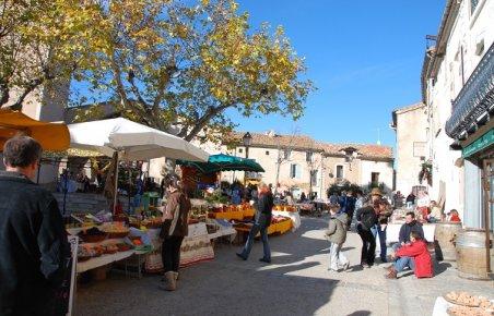 Marché en Occitanie