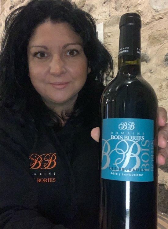 Delphine Vaz de Sousa, vigneronne au Domaine Bois Bories