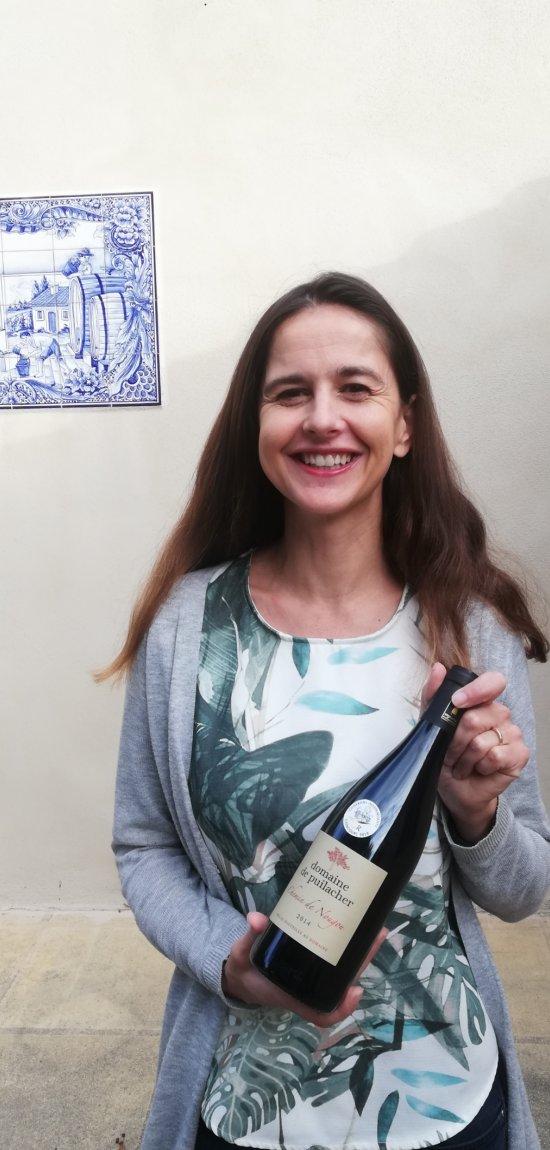 Laure Margottin Fages, vigneronne maître de chai au Domaine de Puilacher