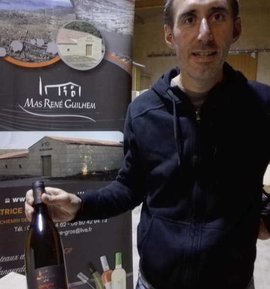 Patrice Gros, gérant et vigneron au Mas René Guilhem