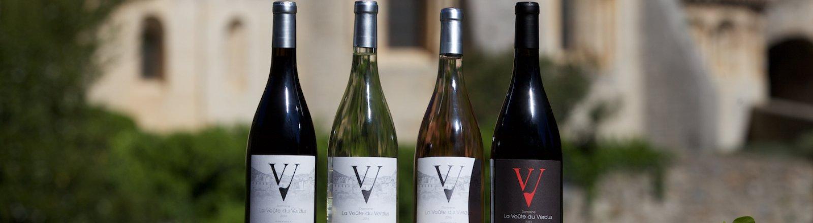 Les vins © La Voûte du Verdus