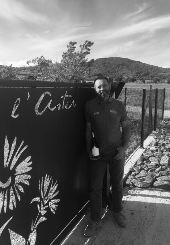 Jacques Bilhac, vigneron au Domaine de l'Aster à Péret