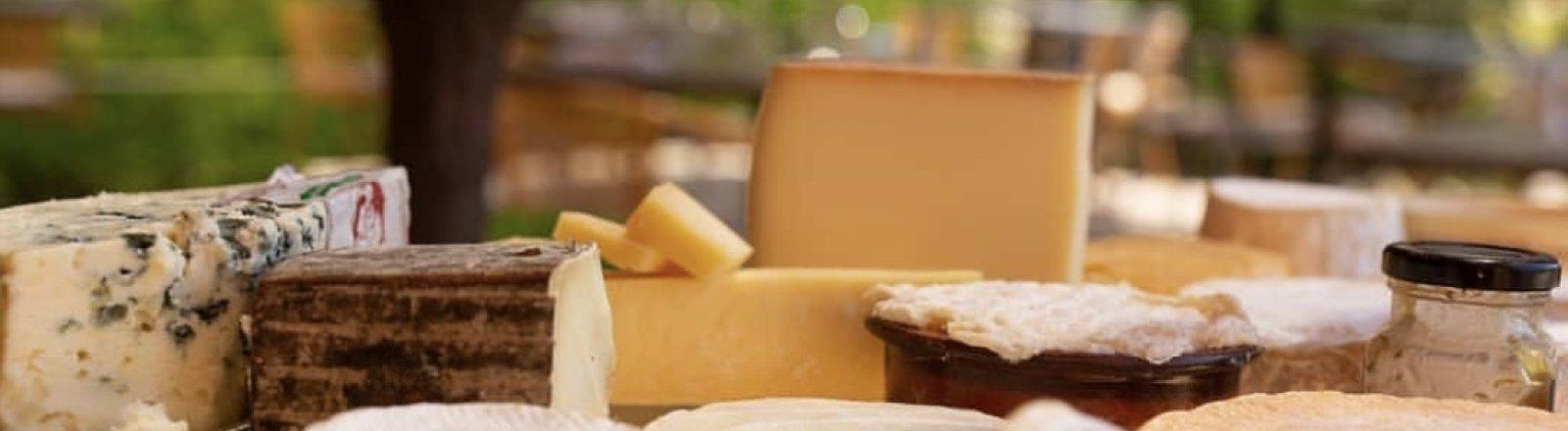 LA POURPRE ET LES OLIVIERS © plateau de fromages