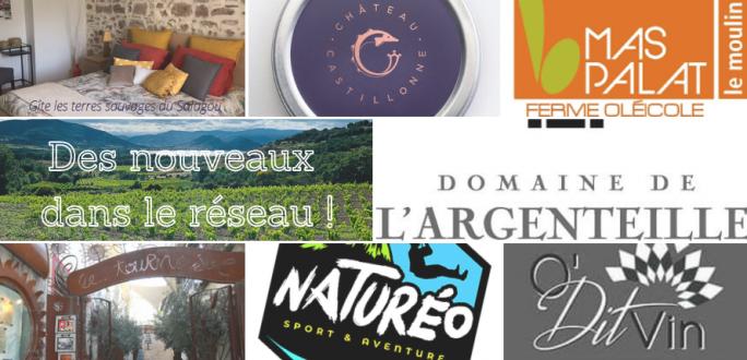 Nouveaux professionnels labellisés Vignobles & Découvertes 2021