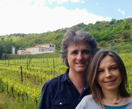 Virgile Joly et sa femme Magdalena