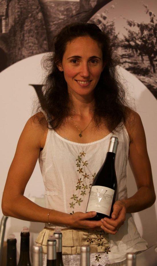 Mélanie Estival, oenologue à la Voûte du Verdus
