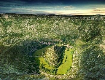 Cirque de Navacelles, tourisme éco responsable