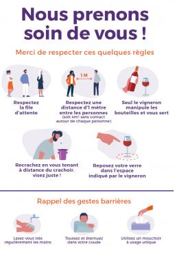 Vin& Société : Oenotourisme - Les règles à respecter - covid-19