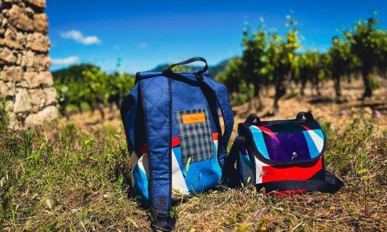 Le Comporte, sac à dos vigneron