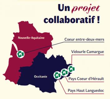 Les destinations Vignobles & Découvertes partenaires pour le projet sac à dos