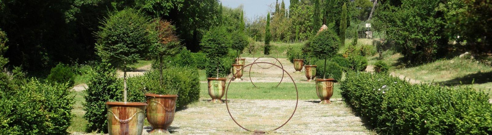 Les jardins - Domaine de Rieussec © Pays Coeur d'Hérault