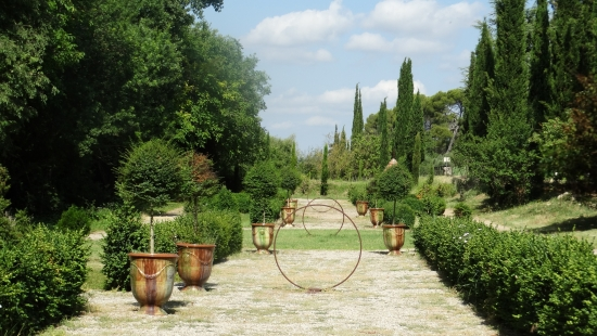 Les jardins - Domaine de Rieussec