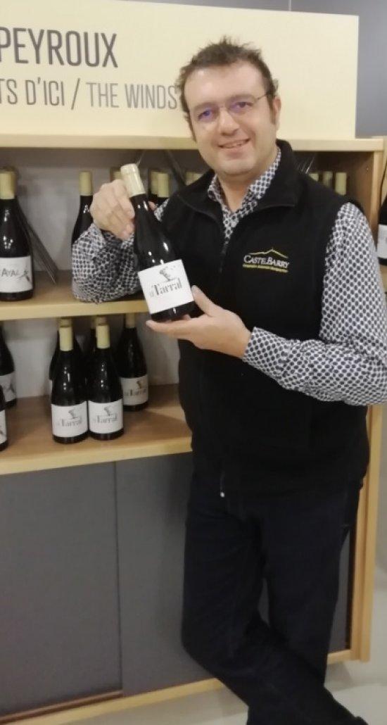 Sébastien Lemoine, reponsable boutique à Castelbarry