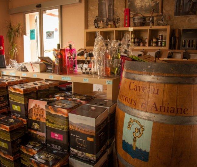 TOURS & TERROIRS D'ANIANE - CAVEAU D'ANIANE