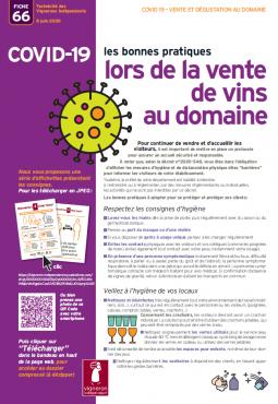 Covid-19 : vente et dégustation au caveau -Vignerons indépendants de France