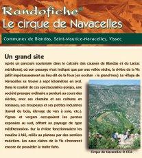 Randofiche Cirque de Navacelles