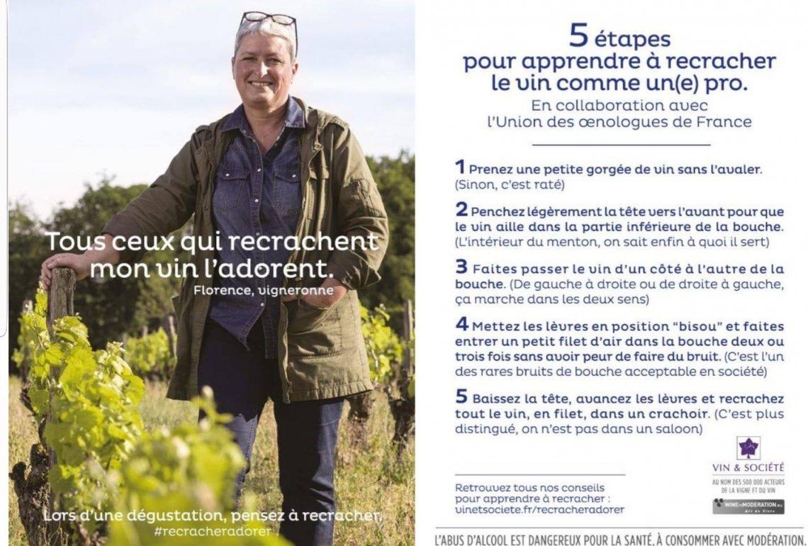 5 étapes pour apprendre à recracher le vin comme un(e) pro